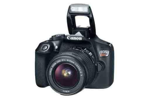 eos rebel t6 3q flash 675x450 - Canon EOS Rebel T6 Digital SLR Camera + 18-55mm EF-S f/3.5-5.6 IS II Lens