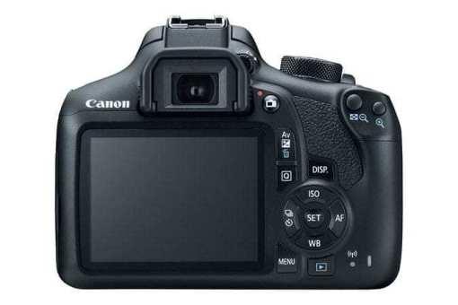 eos rebel t6 back d - Canon EOS Rebel T6 Digital SLR Camera + 18-55mm EF-S f/3.5-5.6 IS II Lens