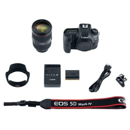 4ffd3ad5 598f 404a bcdd 3a56186c0183 - Canon EOS 5D Mark IV Full Frame Digital SLR Camera with EF 24-105mm f/4L IS II USM Lens Kit