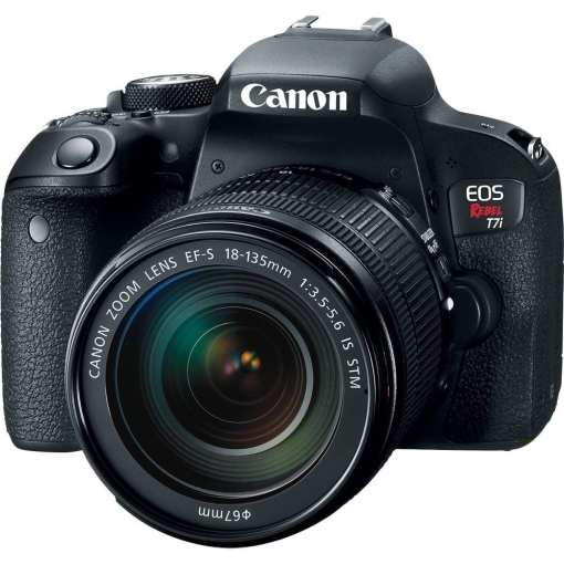 Canon EOS Rebel T7i DSLR Camera with 18 135mm Lens 01 - Canon EOS Rebel T7i 24.2MP Digital SLR Camera with 18-135mm Lens