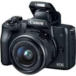 64aec2d8 48d9 48c4 b59d 3a6405a1f2d2 - Canon EOS M50 Mirrorless Camera Kit w/ EF-M15-45mm Lens and 4K Video (Black)
