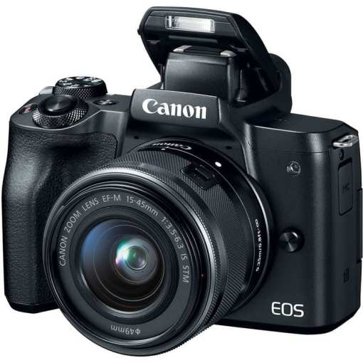 64aec2d8 48d9 48c4 b59d 3a6405a1f2d2 - Canon EOS M50 Mirrorless Camera Kit w/ EF-M15-45mm Lens and 4K Video (Black)