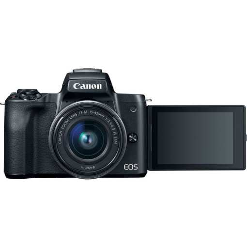 7207d7c7 519b 4b2f bfc0 e72ea688f841 - Canon EOS M50 Mirrorless Camera Kit w/ EF-M15-45mm Lens and 4K Video (Black)