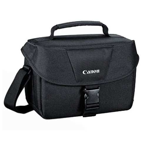 a136d608 957b 48cb b0d5 6dd89b3ae6ae - Canon Genuine Padded Starter Digital SLR Camera Lens Shoulder Bag Case Gadget EOS + Cleaning Cloth and Camera & Lens 5 Piece Cleaning Kit