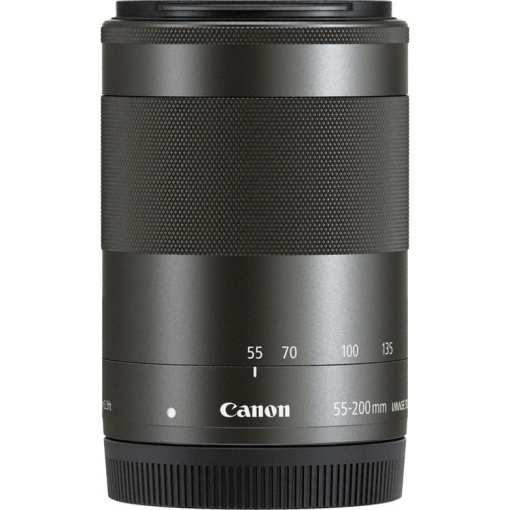 53778200 ee12 46a1 b23d 0345291d74c0 - Canon EF-M 55-200mm f/4.5-6.3 Image Stabilization STM Lens (Black)