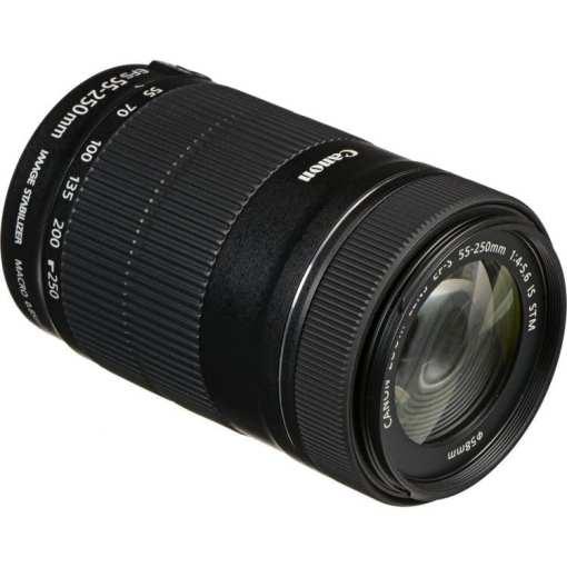 8096fce2 15c9 45ea b57a 9106d14c6a1b - Canon EF-S 55-250mm F4-5.6 IS STM Lens for Canon SLR Cameras
