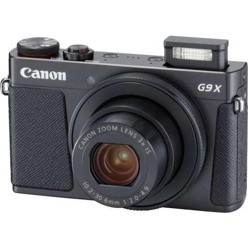 8fc9501f 503e 4135 80e2 5015d55052f0 - New Canon PowerShot G9 X Mark II Digital Camera (Black)