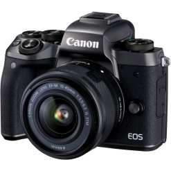 Canon EOS M5 Mirrorless Digital Camera with 15 45mm Lens 01 - Cart