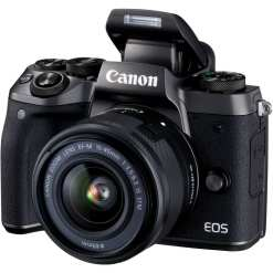 Canon EOS M5 Mirrorless Digital Camera with 15 45mm Lens 02 - Cart