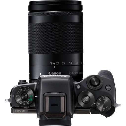 Canon EOS M5 Mirrorless Digital Camera with 18 150mm Lens 08 - Canon EOS M5 EF-M 18-150mm f/3.5-6.3 IS STM Lens Kit