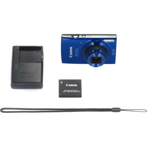 Canon PowerShot ELPH 190 IS Digital Camera Blue 08 - Canon PowerShot ELPH 190 IS with 10x Optical Zoom and Built-In Wi-Fi (Blue)