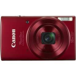 Canon PowerShot ELPH 190 IS Digital Camera Red 02 - Canon PowerShot ELPH 190 IS with 10x Optical Zoom and Built-In Wi-Fi (Red)