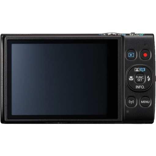 Canon PowerShot ELPH 360 HS Digital Camera Black 03 - Canon PowerShot ELPH 360 HS with 12x Optical Zoom and Built-In Wi-Fi (Black)