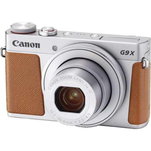Canon PowerShot G9 X Mark II Digital Camera Silver 01 - New Canon PowerShot G9 X Mark II Digital Camera (Silver)