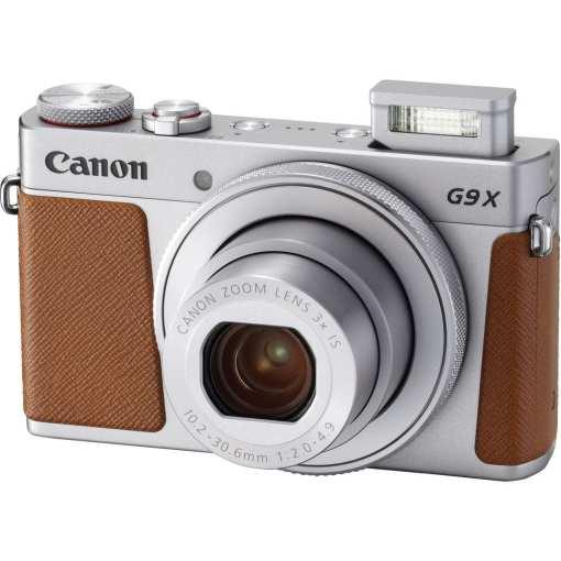 Canon PowerShot G9 X Mark II Digital Camera Silver 03 - New Canon PowerShot G9 X Mark II Digital Camera (Silver)