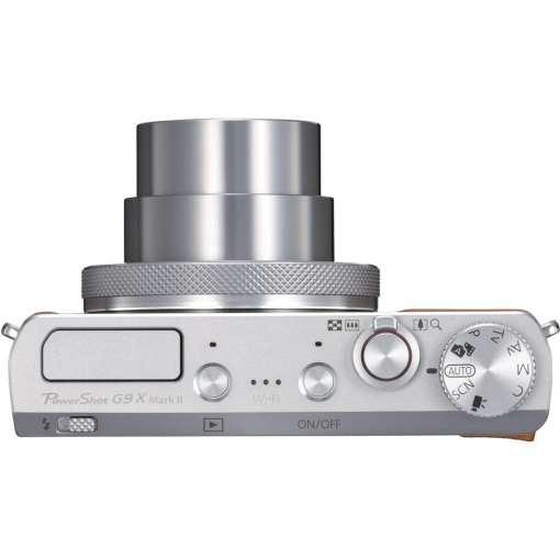 Canon PowerShot G9 X Mark II Digital Camera Silver 05 - New Canon PowerShot G9 X Mark II Digital Camera (Silver)