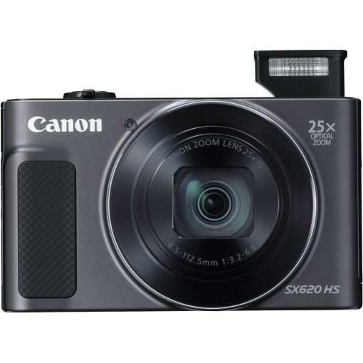 Canon PowerShot SX620 HS Digital Camera Black 03 - Canon PowerShot SX620 Digital Camera w/25x Optical Zoom - Wi-Fi & NFC Enabled (Black)