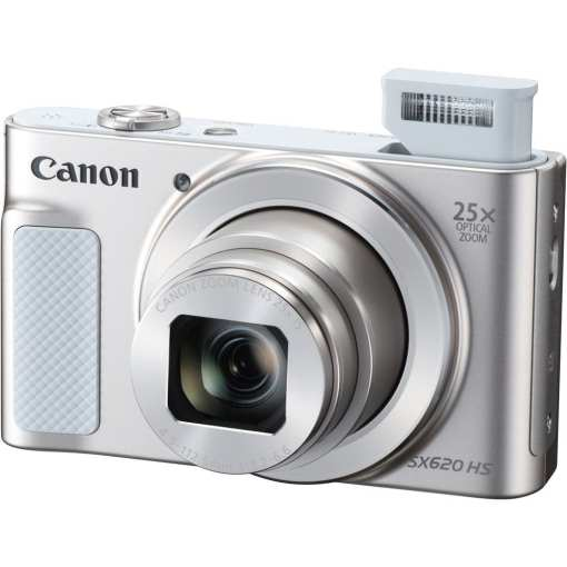 Canon PowerShot SX620 HS Digital Camera Silver 02 - Canon PowerShot SX620 Digital Camera w/25x Optical Zoom - Wi-Fi & NFC Enabled (Silver)