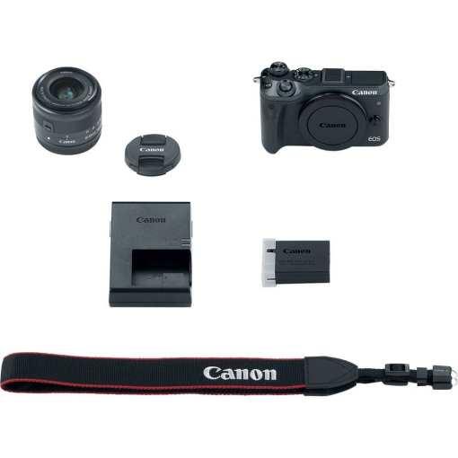 b7d4d81d c12a 4c00 b441 d638e2c58748 - Canon EOS M6 EF-M 15-45mm f/3.5-6.3 IS STM Lens Kit (Black)
