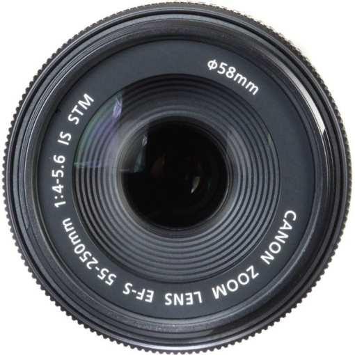 ba068915 26a5 4c2f 8395 ddeea11891bb - Canon EF-S 55-250mm F4-5.6 IS STM Lens for Canon SLR Cameras