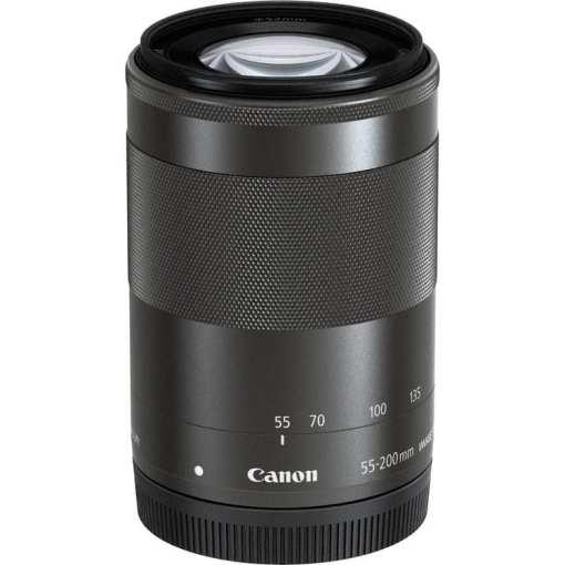 bd59d8bc 017b 4211 bea9 26ed4e58299c - Canon EF-M 55-200mm f/4.5-6.3 Image Stabilization STM Lens (Black)