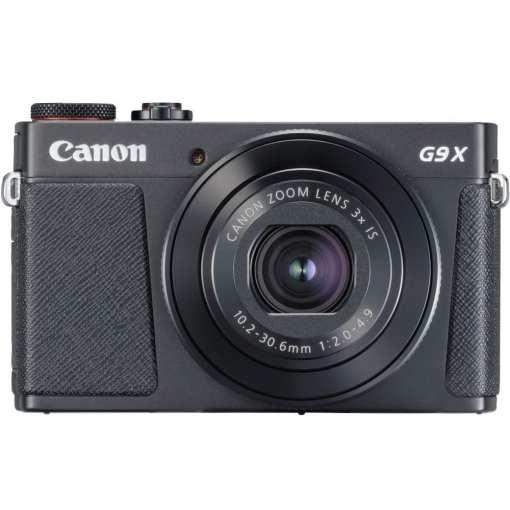 d927f34d 31c1 4ac2 be2e aabbfe4ed58a - New Canon PowerShot G9 X Mark II Digital Camera (Black)