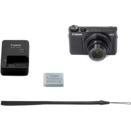 f1d19601 23d8 432f bc68 2737d25802a5 - New Canon PowerShot G9 X Mark II Digital Camera (Black)