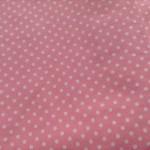 水玉ブロードピンク1