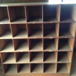 木製のロッカー1