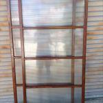 縞模様のガラス戸2