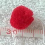ぼんてん赤15mm2