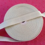 杉綾織平テープ20mm黄緑グレー1