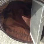 ミニショルダーバッグ茶色3