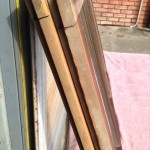 透明ガラス引き違い戸6