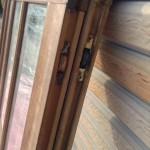 透明ガラス引き違い戸7