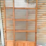 縦縞ガラス引き違い戸2