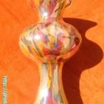 ゴージャスなガラス花瓶1