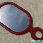 赤ラーク手鏡2