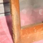 丸タイル模様ガラス戸4