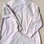 ラコステボタンダウンシャツ白2