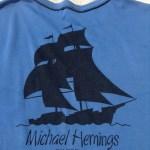 MichaelHemingsTシャツバックプリント