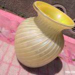 レモンイエロー花瓶1