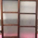 縦長ガラス戸3段タイプ2