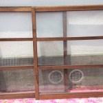 透明ガラス引き違い戸変則サイズ1