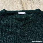 ローリーズファームVネックセーター1