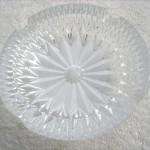 ボヘミアガラス灰皿1