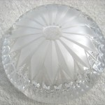 ボヘミアガラス灰皿2
