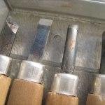 彫刻刀の刃
