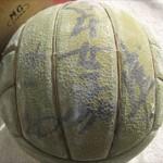 ミュンヘンオリンピック日本代表女子バレーボールチームサインボール3