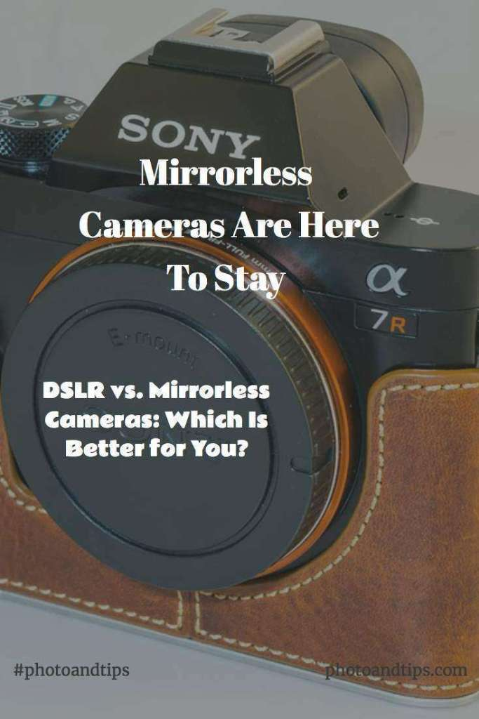 Mirrorless Cameras Systems Are Here To Stay